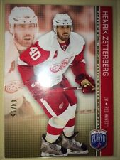 HENRIK ZETTERBERG 2008/09 BAP Be A PLayer SERIAL #04/15 RARE!