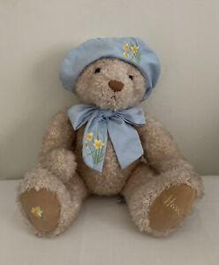 "Vintage Harrods Knightsbridge  Bear 13"" Plush Stuffed Bear"