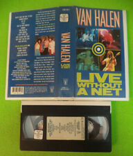 VHS VAN HALEN Live without a net 1986 WARNER 938129-3 no mc dvd lp (VM2)