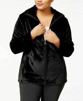 Ideology Plus Size Lux Jacket Women's Size 1X Black NWT