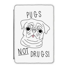 "Pugs Not Drugs Case Cover for Kindle 6"" E-reader - Funny Dog Puppy"
