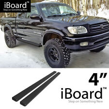 Running Board Side Step Nerf Bars 4in Black Fit Toyota Tundra Access Cab 00-06