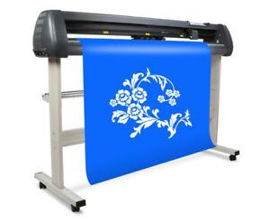 """CE 1350 mm 53"""" LCD Sign Sticker Vinyl Cutter Cutting Plotter SK1350T"""