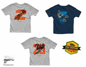 Thor Youth TEE T-shirt MX Weeb/Musquin/Pressinger Off Road Dirt Bike All Size