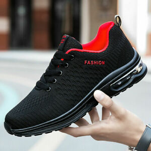 Men's Air Cushion Running Shoes Outdoor Jogging Walking Sneakers Athletic Tennis