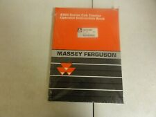 Massey Ferguson 4300 Series Tractor Operator Instruction Book Manual
