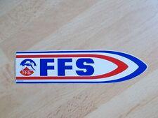 Autocollant FÉDÉRATION FRANÇAISE DE SKI / FFS