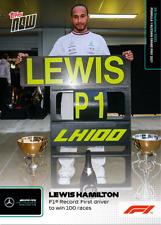 ➠ Topps Now Formula 1 #55 Lewis Hamilton - Mercedes AMG - 100 Races (PreOrder)