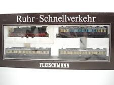 Fleischmann 1887 Ruhr-Schnellverkehr, Tenderlok BR 78 254, 3 x Personenwagen, AC