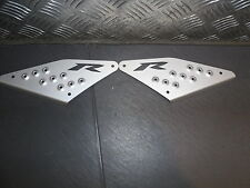 YAMAHA AEROX R FOOT PLATES NEW IN PACKET (S)