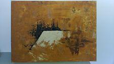 Tableau Art Abstrait année 60 / 70