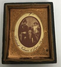 Miniature Picture Frames 2 #FZ Brown Jacquelines Plastic Painted Brown