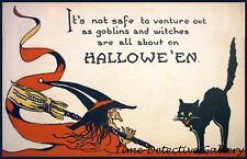 Vintage Halloween Graphic Print #15 - Available in 4 Sizes