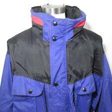 Back Country Mountaineering XL Vintage 90s Color Block Ski Jacket Blue Black
