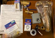 "Plumb eeze Pressure Tank Installation Kit with 1"" Brass Tank Tee"
