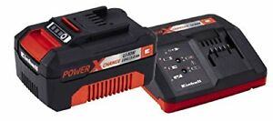 Einhell Starter-Kit Power-X-Change 18V - 3 Ah Akku Ladegerät Schnellladegerät