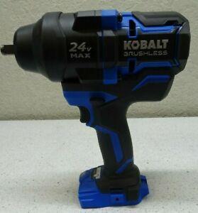 Kobalt KXIW 124B-03 24V Max XTR 1/2 Brushless Impact Wrench - Bare Tool Only