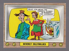 1969 TOPPS CRAZY TV BEVERLY SILLYBILLIES CARD #30 FINISHED TEST ISSUE