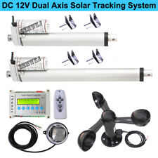 Electric Solar Tracking Controller+Wind Sensor Dual Axis Solar Panel Tracker Diy