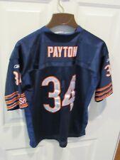 Chicago Bears Walter Payton NFL Football Jersey Size Large sewn Reebok