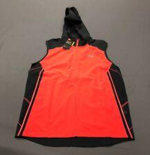 Under Armour Storm Hooded Running Vest (L, Orange/Pink)(Nwt) Msrp $75