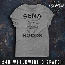 Send Noods T Shirt Noodles Ramen Japan Facebook Instagram Joke Novelty Gift