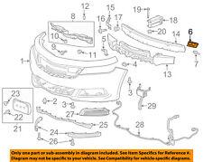 Chevrolet GM OEM 14-16 Impala Front Bumper Grille-Side Bracket Left 22994471
