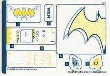 LEGO 41237 - DC Super Hero Girls - Batgirl Secret Bunker - STICKER SHEET