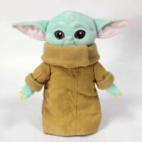 30cm Baby Yoda Plush Toy Wakes Master The Mandalorian Force Stuffed Doll Gift