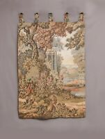 Antique French Aubusson Style Wall Hanging Tapestry |150X95cm | Vintage Style