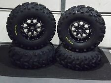 "27"" BEAR CLAW ATV TIRE & STI HD4 WHEEL KIT LIFETIME WARRANTY COMPLETE IRSL5"