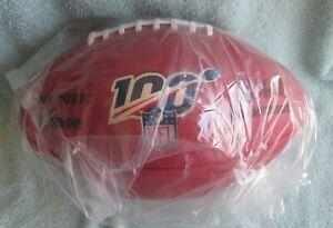 """OFFICIAL WILSON """"THE DUKE"""" NFL 100 GAME FOOTBALL ROGER GOODELL COMMISSIONER"""