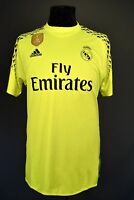 Real Madrid Jersey 2016 Goalkeeper Shirt Mens Camiseta Adidas B41453 ig93