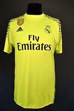 Real Madrid Jersey 2016 Goalkeeper Shirt Mens Camiseta Adidas B41453 ig93