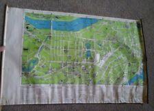 Vintage 1940 Lufkin Cane Map of Boston, Massachusetts American Legion
