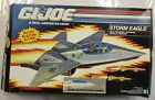 COMPLETE STORM EAGLE 1991 GI JOE Fighter Jet vtg Vintage box arah figure toy yo