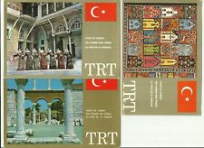 Voice of Turkey QSL Cards x 3, 1978-1984