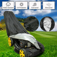 78'' Waterproof Walk Behind Push Lawn Mower Cover Storage Rain Dust UV Protector