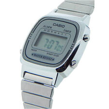 New Casio Ladies Digital Quartz Alarm Dress Watch LA670W LA-670WA-7D New