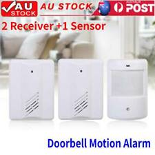 Restaurant Shop Entry Wireless Motion Sensor Welcome Door Chime Bell Alarm Alert