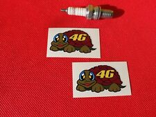 Pair Rossi turtle fairing stickers