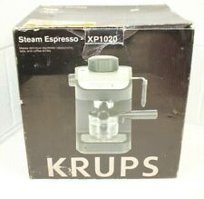 NEW Krups Steam Expresso Cappuccino Latte Coffee Machine XP 1020 Black NIB!!