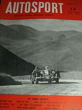 Autosport novembre 13th 1953 * 2.3 L SALMSON *