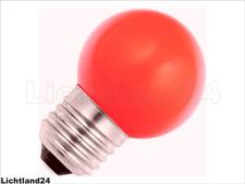 E27 - 1,5 Watt LED Color Ball bunte Tropfenlampe ROT verglb. 15W Glühlampe