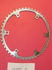 TA  / 152 PCD  49 tooth Adaptor  chainring / NOS L'eroica