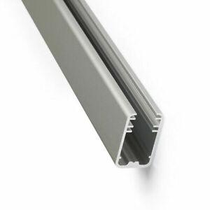2m LED-Alu-Glaskanten-Profil Leiste Glaskantenbeleuchtung Glasboden 8mm Vitrine