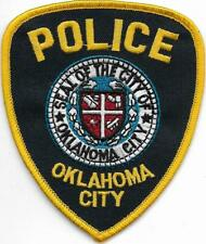 US Capital City HAUPTSTADT  OKLAHOMA City  Polizei Abzeichen Police Patch USA
