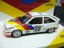 Opel Kadett E GSI DTM viajes auto 1989 #40 strycek irmscher Minichamps rar 1:43
