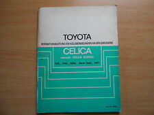 Werkstatthandbuch Toyota Celica Supra für Kollisiosschäden an der Karosserie