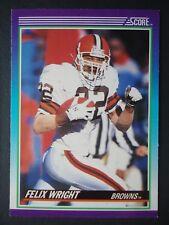 NFL 122 Felix Wright Cleveland Browns Score 1990